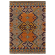 Jaipur Kaliediscope Rug From Anatolia Collection AT07 - Orange/Purple