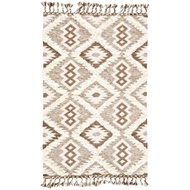 Jaipur Kent Rug From Kokoda Collection KOK03 - Brown/White
