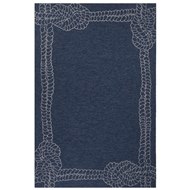Jaipur Killians Rug From Coastal Lagoon Collection COL49 - Blue/Ivory