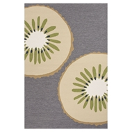 Jaipur Kiwi Rug From Grant I-O Collection GD43 - Gray/Ivory