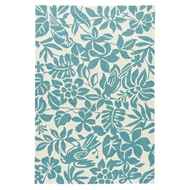 Jaipur Kokomo Rug from Coastal Lagoon Collection COL55 - Blue/White