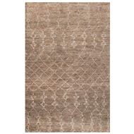Jaipur Lapins Rug From Luxor By Nikki Chu Collection LNK04 - Natural/Gray