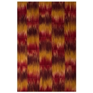 Jaipur Macaw Rug from National Geographic Home Collection - Chili Pepper