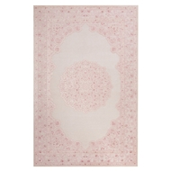 Jaipur Malo Rug From Fables Collection FB123 - Ivory/Pink