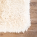 Jaipur Marlowe Rug From Marlowe Collection MAL03 - Corner Ivory/White