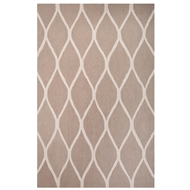 Jaipur Marquia Rug From Lounge Collection LOE18 - Taupe/Ivory