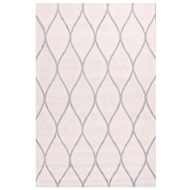 Jaipur Marquia Rug From Lounge Collection LOE02 - Ivory/Gray