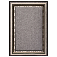 Jaipur Matted Rug From Bloom Collection BLO16 - Gray/Taupe