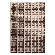 Jaipur Melina Rug From Urban Bungalow Collection UB38 - Ivory/Brown