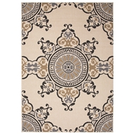 Jaipur Mobile Rug From Bloom Collection BLO20 - Taupe/Gray