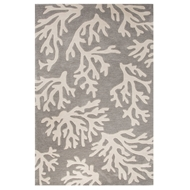 Jaipur Myrtle Rug From Coastal Tides Collection COT03 - Gray/Ivory