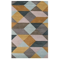 Jaipur Ojo Rug From En Casa By Luli Sanchez LST16 - Yellow/Gray
