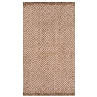 Jaipur Ono Rug From Naturals Tobago Collection NAT09 - Taupe/Ivory