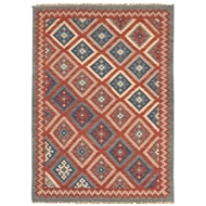 Jaipur Ottoman Rug From Anatolia Collection AT01 - Red/Blue