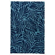 Jaipur Palm Breezy Rug from Coastal Lagoon Collection COL61 - Blue