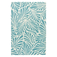Jaipur Palm Breezy Rug from Coastal Lagoon Collection COL63 - Blue/White