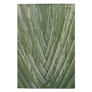 Jaipur Palm Leaf Rug From National Geographic Home Collection NGO02 - Green