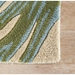 Jaipur Palmetto Rug From Coastal Seaside Collection COS33 - Corner Blue/Green