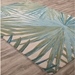 Jaipur Palmetto Rug From Coastal Seaside Collection COS33 - Floorshot Blue/Green