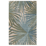 Jaipur Palmetto Rug From Coastal Seaside Collection COS33 - Blue/Green