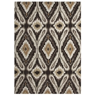 Jaipur Pattern Play Rug from Brio Collection - Black Olive