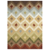 Jaipur Pedra Rug From Barcelona I-O Collection BA10 - Ivory/Multi-Colored