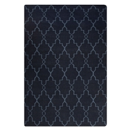 Jaipur Piper Rug from Maroc Collection - Dark Denim