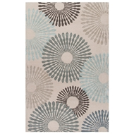 Jaipur Plaza Rug From Blue Collection BL143 - Blue