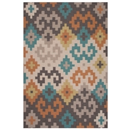 Jaipur Prismic Rug from Traditions Made Modern Flat Weave Collection - Oyster Gray
