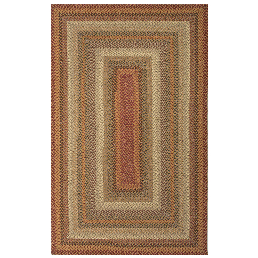 Jaipur Pumpkin Pie Rug From Cotton Braided Rugs Collection Cbr04 Red Ivory