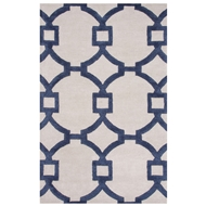 Jaipur Regency Rug From City Collection CT57 - Ivory/Blue