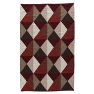 Jaipur Ritner Rug from Elmhurst Collection - Ruby Wine