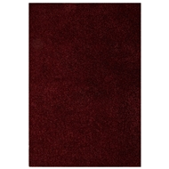 Jaipur Robin Shaggy Rug from Cordon Collection - Scarlet