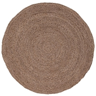Jaipur Round About Rug from Spiral Collection SPI02 - Neutral/Ivory