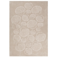 Jaipur Sable Rug From Coastal Tides Collection COT07 - Natural/Ivory