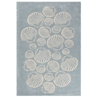 Jaipur Sable Rug From Coastal Tides Collection COT08 - Blue/Ivory