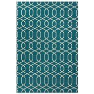 Jaipur Sabrine Rug From Urban Bungalow Collection UB22 - Blue/Ivory