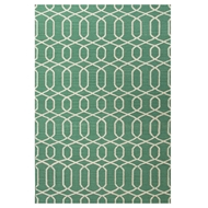Jaipur Sabrine Rug From Urban Bungalow Collection UB29 - Green/Ivory