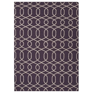 Jaipur Sabrine Rug From Urban Bungalow Collection UB12 - Purple/Ivory