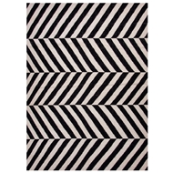 Jaipur Salma Rug From Maroc Collection MR52 - Black/White