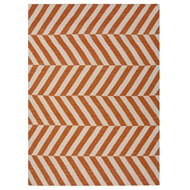 Jaipur Salma Rug From Maroc Collection MR29 - Orange/Ivory