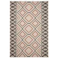 Jaipur Sammi Rug From Bloom Collection BLO29 - Ivory/Blue