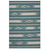 Jaipur Sassandra Rug From Traditions Made Modern Flat Weave Collection MMF10 - Blue/Ivory