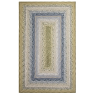 Jaipur Seascape Rug From Cotton Braided Rugs Collection CBR05 - Blue/Green