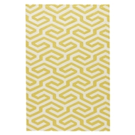 Jaipur Shorebreak Rug From Catalina Collection CAT33 - Yellow/White