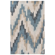 Jaipur Solaris Rug from Blue Collection - Campanula