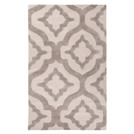 Jaipur Star Rug From City Collection CT78 - Ivory/White