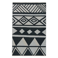 Jaipur Sukhala Rug From National Geographic Home Collection NGC02 - Black/White