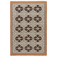 Jaipur Sultan Rug From Anatolia Collection AT15 - White/Blue