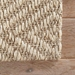 Jaipur Tampa Rug From Naturals Tobago Collection NAT07 - Corner Taupe/Tan